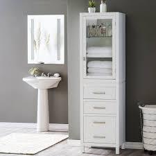 bathroom linen cabinet with glass doors bathroom linen cabinets ikea protoblogr design collectible linen