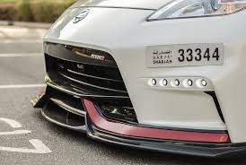 nissan fairlady 370z body kit carbonsignal 2015 nismo u2013 leds bracket