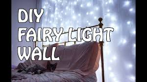 Fairy Light Wall by How To Make A Fairy Light Wall Youtube