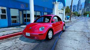 volkswagen beetle pink 2017 volkswagen beetle 2003 add on replace gta5 mods com