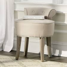 french country vanity stools you u0027ll love wayfair