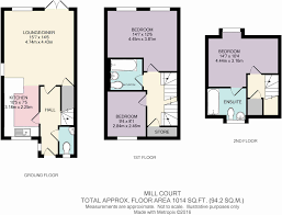 Terraced House Floor Plan by 3 Bedroom Terraced House For Sale In Mill Lane Tettenhall Wood