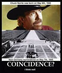 Nazi Meme - rumor chuck norris and the nazi surrender