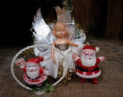 Vintage Christmas Decorations Vintage Christmas Decorations Etsy