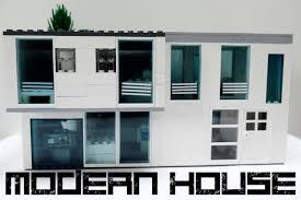 Modern House Furniture Lego Modern House Speedbuild Youtube