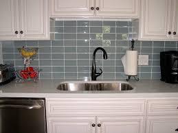 Glass Kitchen Backsplash Ideas Glamorous White Glass Kitchen Backsplash Photo Decoration Ideas