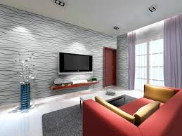 D Bamboo Wall EcoTiles In Living Room Ceiling Tile Ideas - Tiles design for living room wall