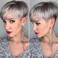 hair undercut female 100 mind blowing short hairstyles for fine hair blonde layers