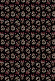 halloween background skulls iphone wallpaper skull pinterest wallpaper phone and patterns