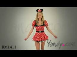 Minnie Mouse Womens Halloween Costume Minnie Mouse Costume