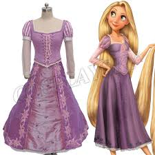 Rapunzel Halloween Costume Adults Cheap Costumes Buy China Suppliers Fabric Satin