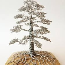 wire tree sculptures by clive maddison twistedsifter
