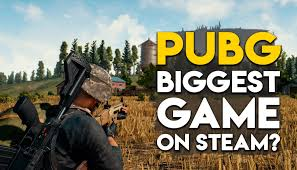pubg game pubg is now the biggest game on steam overtakes dota 2 cs go