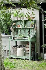 41 best potting bench images on pinterest potting tables