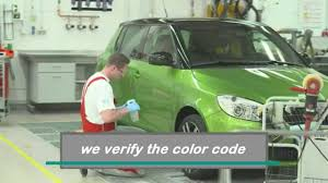 factory paint color matching at bodytech auto body collision