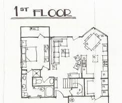 house plan astonishing how to sketch a house plan contemporary
