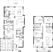 Floor Plan Two Storey by Display Homes Plunkett Homes