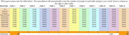 Excel Seating Chart Template Tools Archives Nichols Special Events Nichols Special