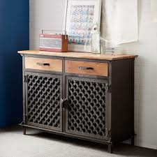 Backyard Bar And Grille Enfield by Evoke Industrial Sideboard Evoke Indian Furniture Iron And