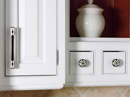 Kitchen Cabinet Pulls Pictures Options Tips  Ideas HGTV - Kitchen cabinet knobs