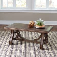 signature design by ashley living room tanobay coffee table 056264