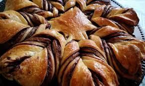 brioche cuisine az brioche étoilée au nutella recette az