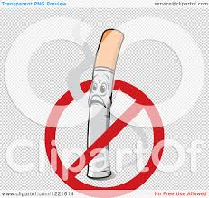 no smoking sign transparent background clipart of a no smoking symbol over a shocked cigarette character
