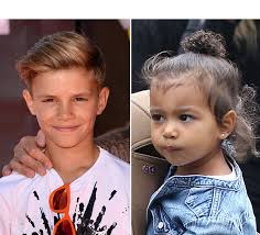 romeo haircut celeb kid hairstyles how to get north west romeo beckham s