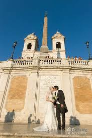 wedding in the wedding in santa popolo church in rome