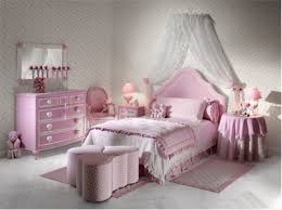 bedroom simple and neat interior with pink comforter and zebra