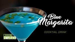 Homemade Blue Margarita Cocktail A Restaurant Style Blue Lagoon
