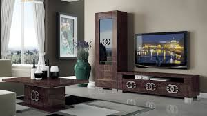 home interior design tv unit walnut brown tv stand with side vitrine shelves hialeah florida