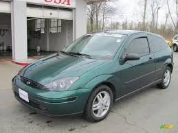2000 ford focus zx3 rainforest green metallic 2000 ford focus zx3 coupe exterior photo