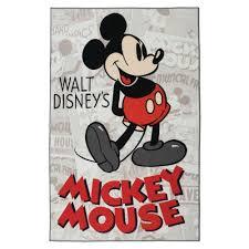 Disney Area Rugs Disney Mickey Classic 4 Ft 6 In X 6 Ft 6 In Indoor