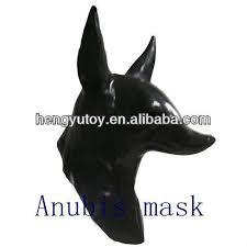 Anubis Halloween Costume Magical Anubis Mask Latex Rubber Halloween Mask Anubis Buy