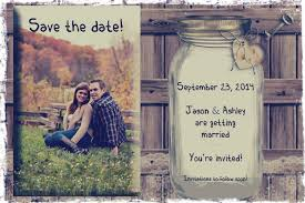 Rustic Save The Date Save The Date Rustic Wedding Reminder Card Printable You