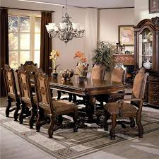 Formal Dining Room Table Sets Neo Renaissance Dining Table And Chair Set By Crown Mark Dining
