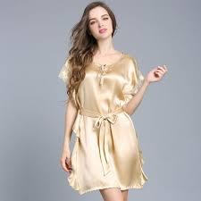 novelty green silk rayon robe lounge nightgown