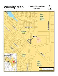 Cary Map 16 Sp 062 Aaa Car Care Center Town Of Cary North Carolina