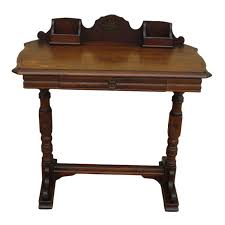 White Victorian Desk by Antique Writing Desk Console Table Antique Furniture
