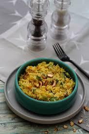 cuisiner de la courgette riz au curry courgette patate douce et noix de cajou amandine