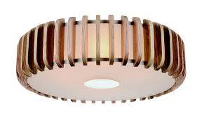 wood flush mount ceiling light scandinavian inspired lighting dans le lakehouse