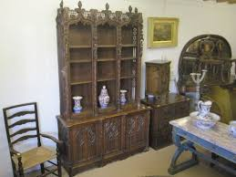 gothic bookcase 105544 sellingantiques co uk