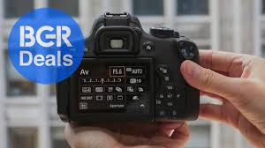amazon black friday canon wifi connected canon dslr discounted in an amazon sale you won u0027t