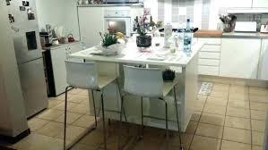ilot de cuisine avec table amovible table amovible cuisine annin se rapportant à ilot de cuisine avec
