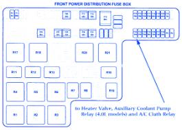 jaguar s type 2003 front power distribution fuse box block circuit