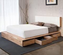 Crate Bed Frame Diy Pallet Bed Plans Pallet Idea