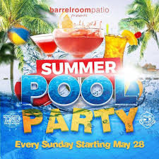 summer pool party we out here magazine wohm