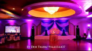 banquet halls in sacramento vik weds manpreet reception party highlight dj tigerz punjabi
