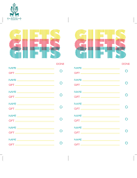 gift list benign objects 25 days of freebies and giveaways day eight
